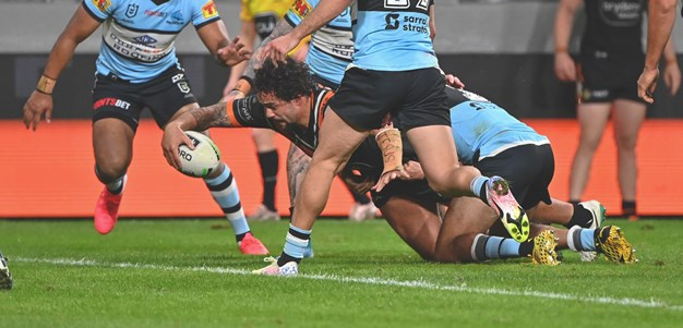 Aloiai try gives Wests Tigers some breathing