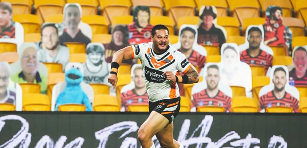 Wests Tigers put in their entry for Try of the Year
