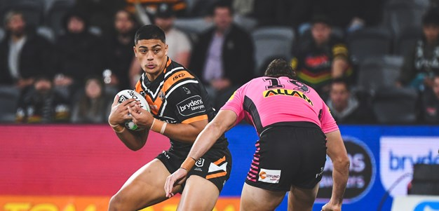 Tommy Talau continues to fire for Wests Tigers