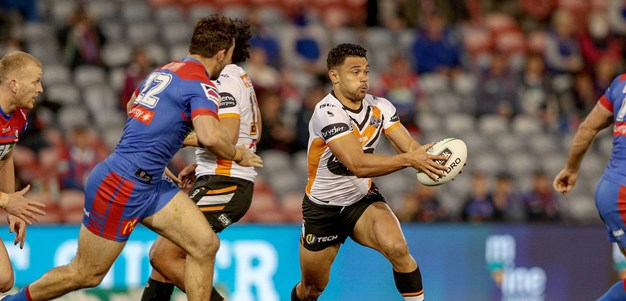 Wests Tigers downed on milestone night in Newcastle