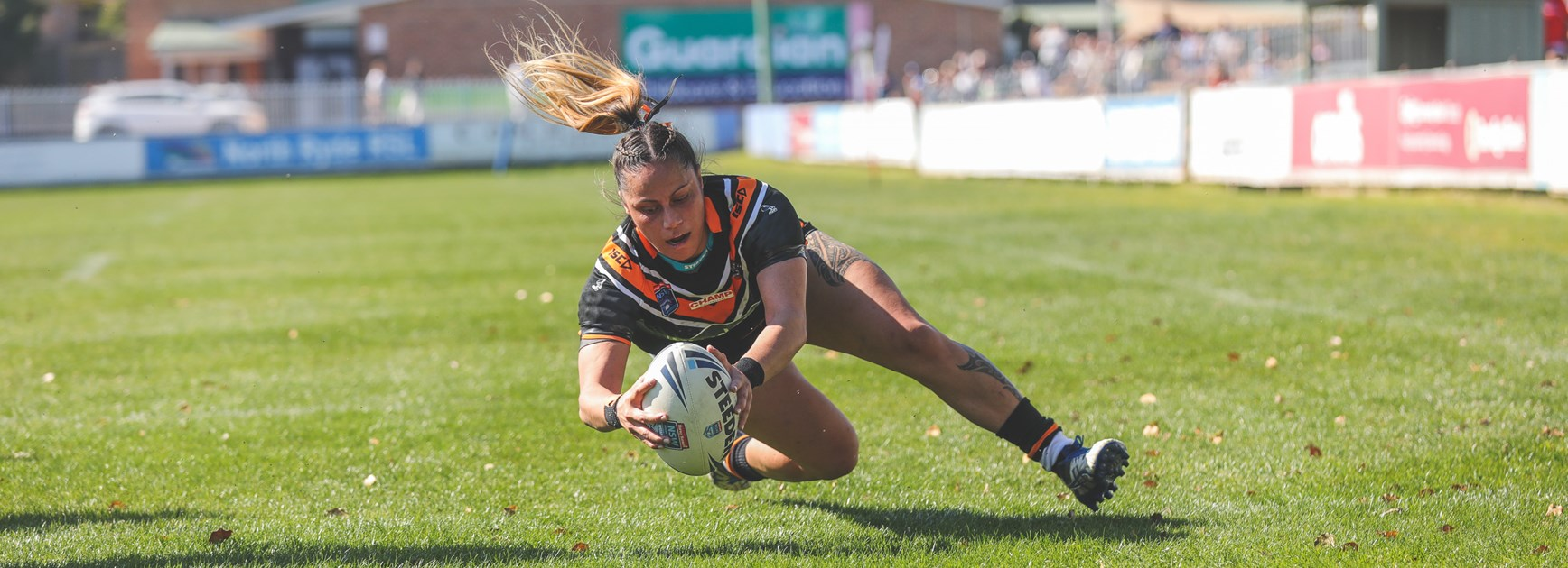Wests Tigers battle bravely in Rabbitohs defeat