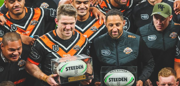 Eight players to depart Wests Tigers