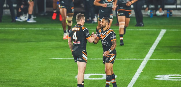 Eels down Wests Tigers in rollercoaster match