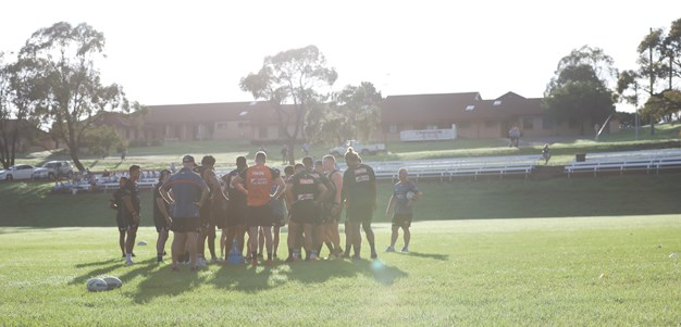 Nines training at St. Gregory's College Campbelltown
