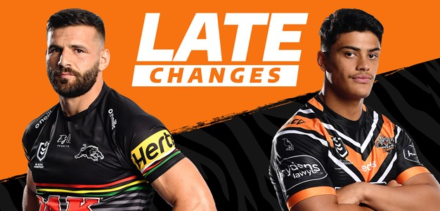 Wests Tigers finalise trial team to take on Panthers