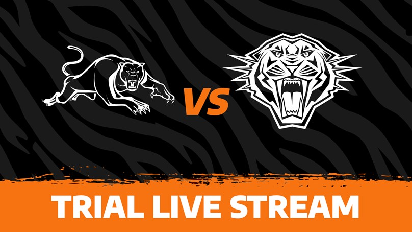 2020 Match Replays: Trial, Penrith Panthers vs. Wests Tigers