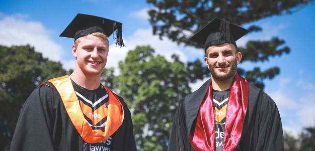 Bright new horizon beckons for Wests Tigers graduates