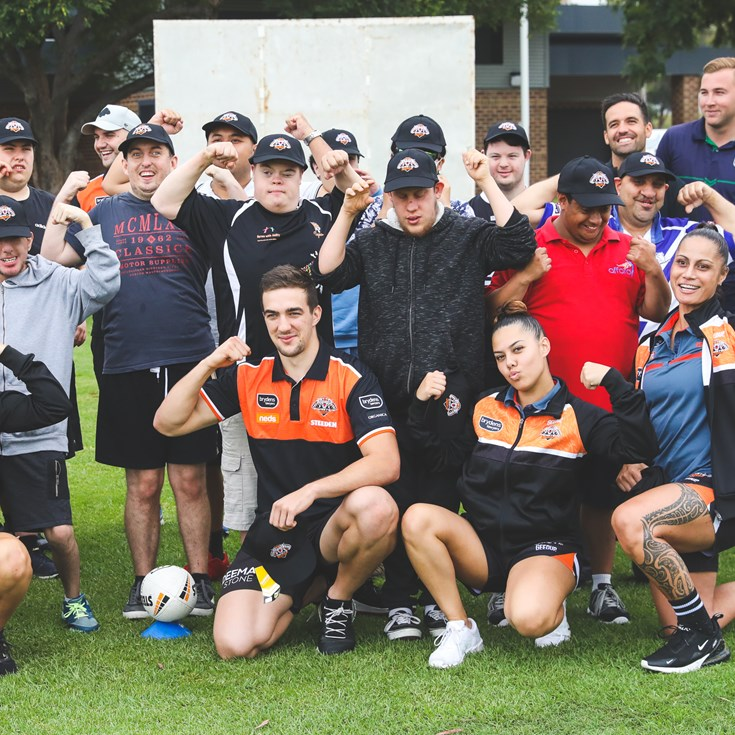Wests Tigers celebrate International Day of People with Disability