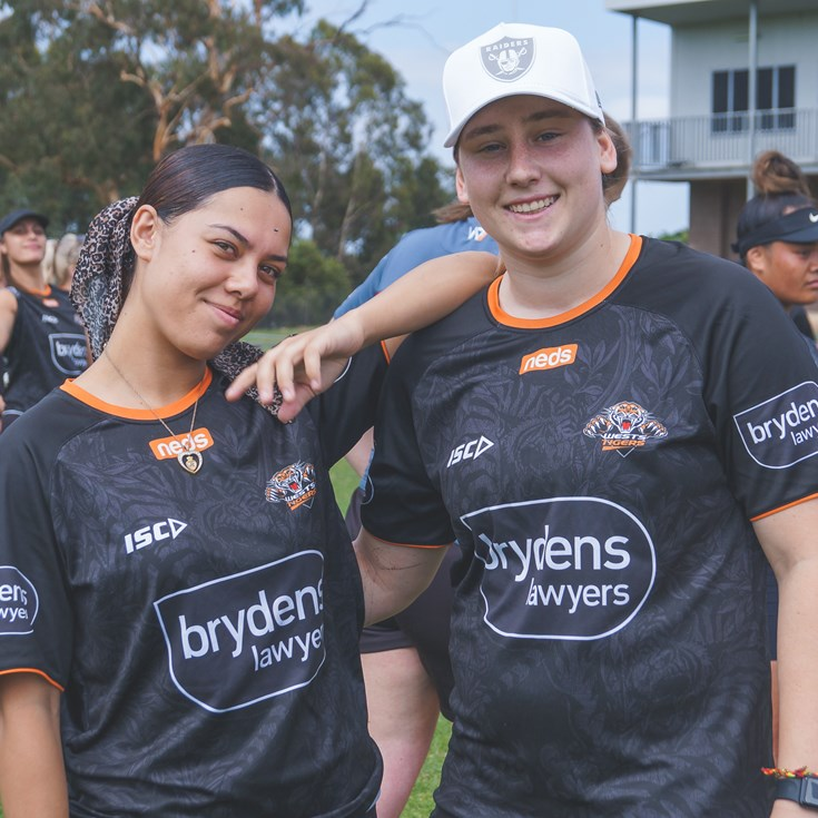 Wests Tigers hold 2021 Talent Identification Day