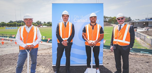 Gallery: Construction underway on Wests Tigers Centre of Excellence