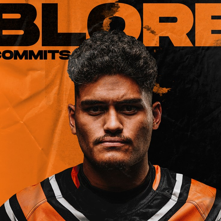 Wests Tigers re-sign Shawn Blore