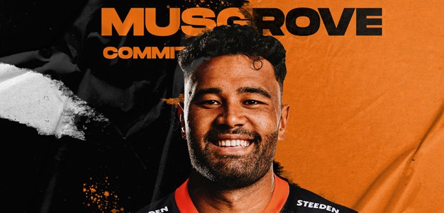 Wests Tigers re-sign Zane Musgrove