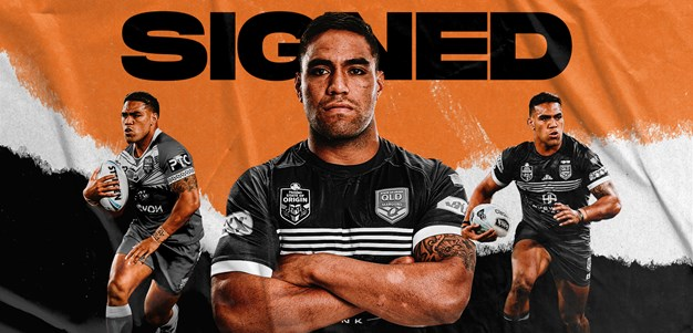 Wests Tigers sign Joe Ofahengaue
