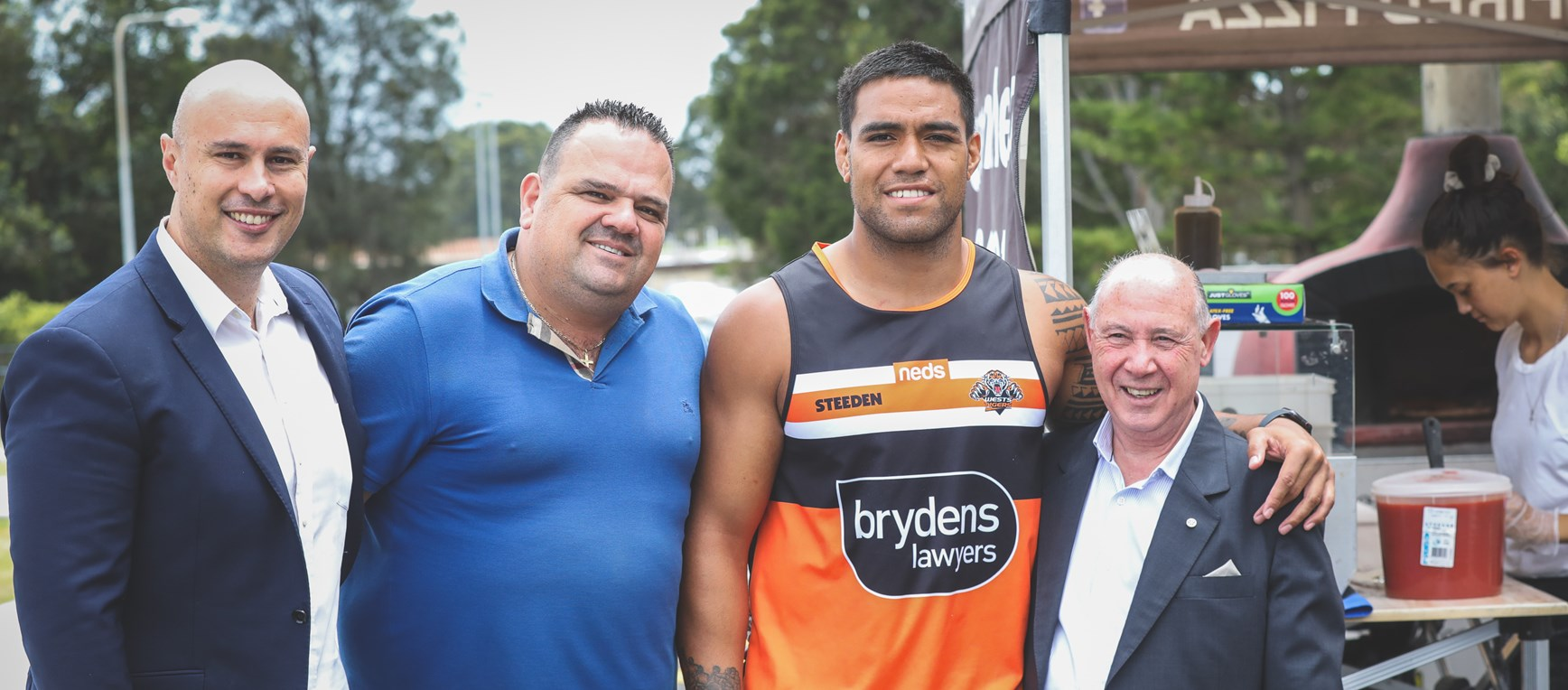 Wests Tigers Thank You Event