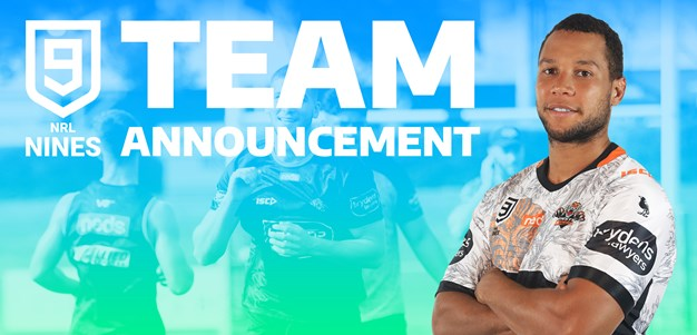 Wests Tigers name team for 2020 Perth Nines