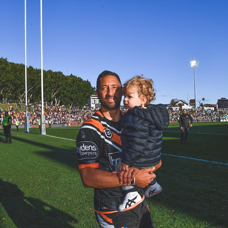 Wests Tigers statement on Benji Marshall