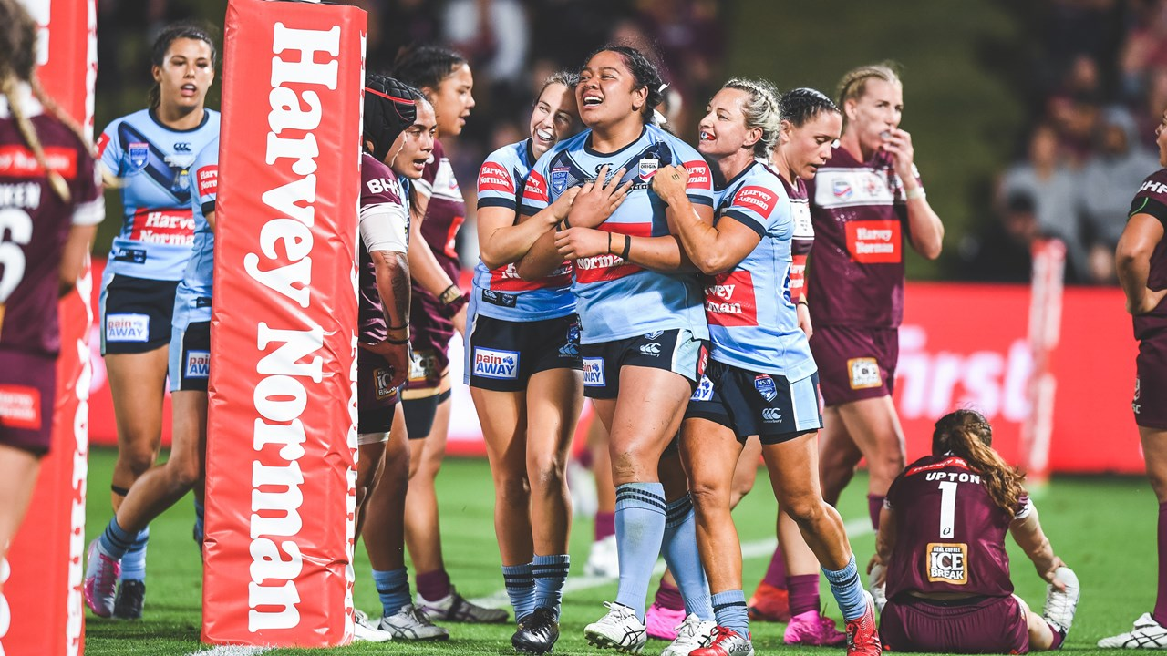 2020 Match Highlights Women S State Of Origin Wests Tigers