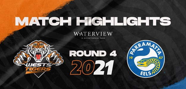 2021 Match Highlights: Rd.4, Wests Tigers vs. Eels
