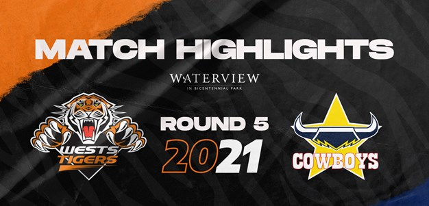 2021 Match Highlights: Rd.5, Wests Tigers vs. Cowboys