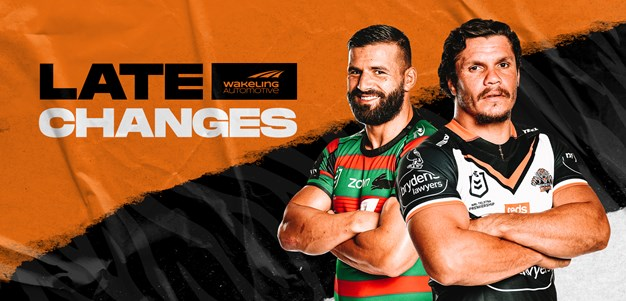 NRL Late Changes: Round 6