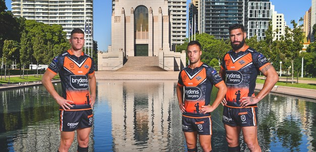 Wests Tigers players motivated for first Anzac Day clash