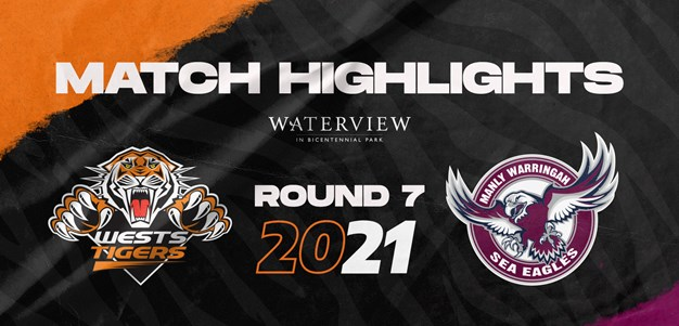 2021 Match Highlights: Rd.7, Wests Tigers vs. Sea Eagles