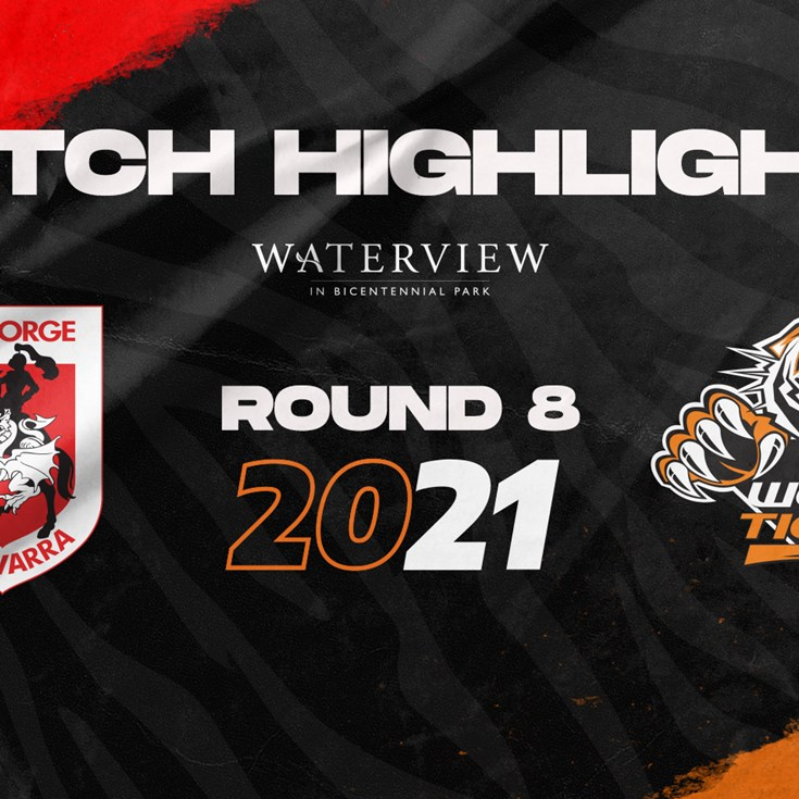 2021 Match Highlights: Rd.8, Dragons vs. Wests Tigers