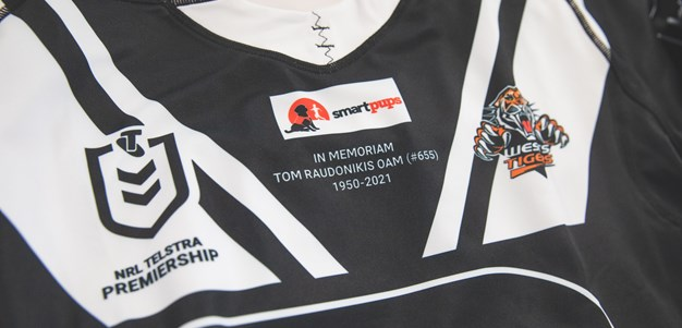 Tommy Raudonikis OAM Memorial jersey auction underway!
