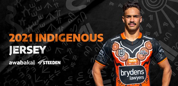 Wests Tigers unveil 2021 Indigenous jersey