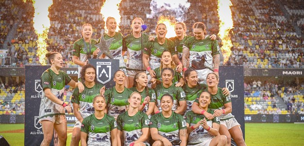 2021 Match Highlights: Maori Women All Stars vs. Indigenous Women All Stars