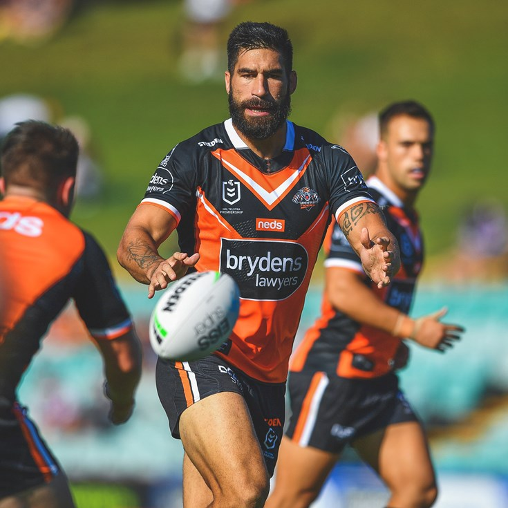 Tamou: Wests Tigers ready to roar