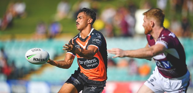 Laurie makes great first impression in Wests Tigers romp