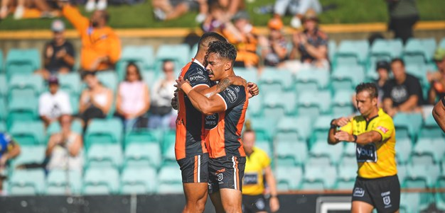 Laurie stars as Wests Tigers down Manly in trial