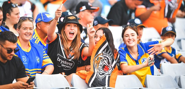 Wests Tigers fall to Eels in Easter Monday thriller