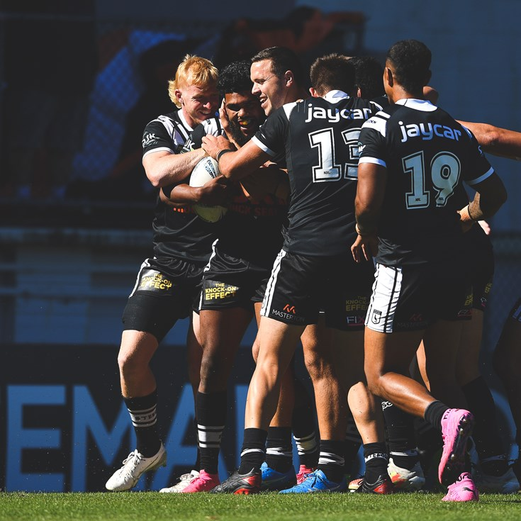 All the action from the Magpies' win over Mounties