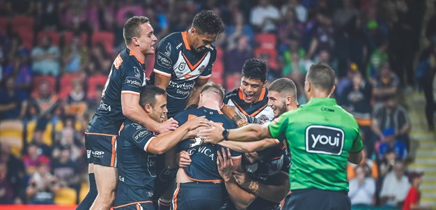 Wests Tigers bring the magic with victory over Newcastle