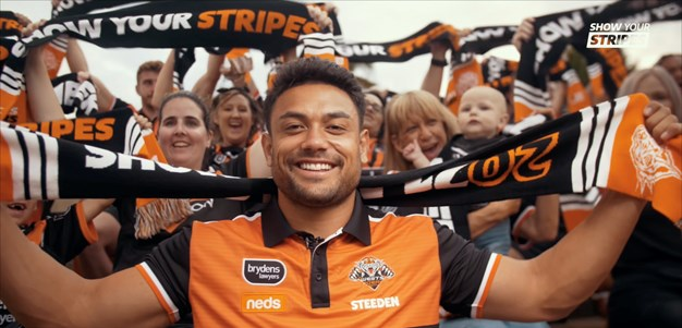 Wests Tigers launch #ShowYourStripes game day campaign