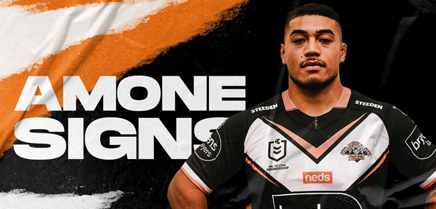 Wests Tigers sign Tom Amone
