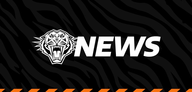 Wests Tigers to wear black armbands in Round 1 clash