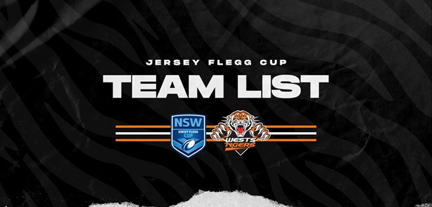 Jersey Flegg Team List: Round 11