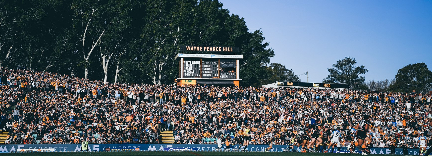 Wests Tigers at Leichhardt Oval in 2020
